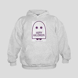 Happy Halloween Ghost Kids Hoodie