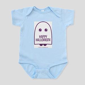 Happy Halloween Ghost Infant Bodysuit