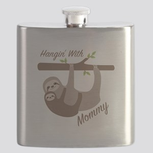 Hanging With Mommy Flask