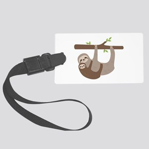 Sloths In Tree Luggage Tag