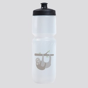 Sloths In Tree Sports Bottle