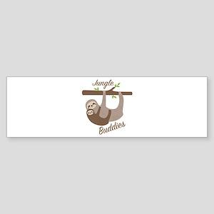Jungle Buddies Bumper Sticker