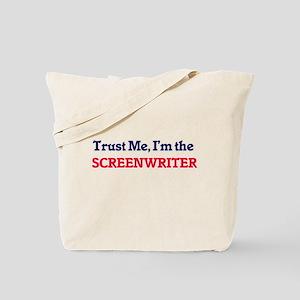 Trust me, I'm the Screenwriter Tote Bag