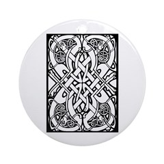 St. Patrick's Day 12 Ornament (Round)