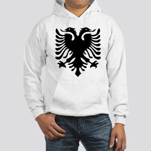 Albanian Eagle Hooded Sweatshirt