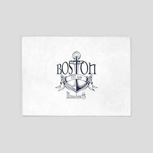 Boston Anchor 5'x7'Area Rug