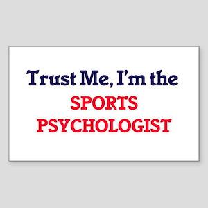 Trust me, I'm the Sports Psychologist Sticker