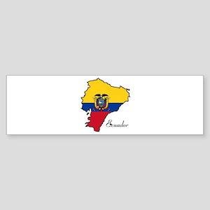 Cool Ecuador Bumper Sticker