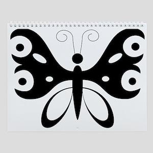Butterfly Wall Calendar