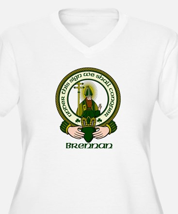 Brennan Clan Motto T-Shirt