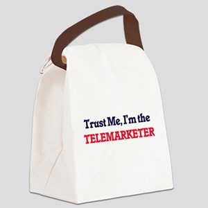 Trust me, I'm the Telemarketer Canvas Lunch Bag