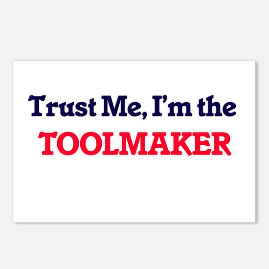 Trust me, I'm the Toolmak Postcards (Package of 8)