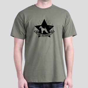 Obey The Airedale! Revolution Dark T-Shirt