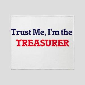 Trust me, I'm the Treasurer Throw Blanket