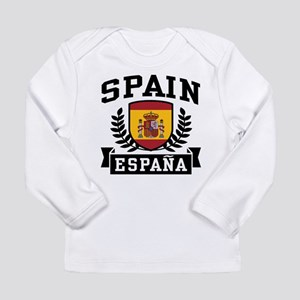 Spain Espana Long Sleeve T-Shirt