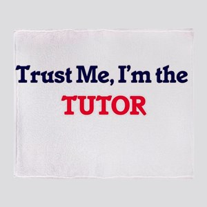 Trust me, I'm the Tutor Throw Blanket