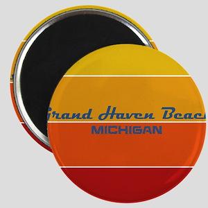Michigan - Grand Haven Beach Magnets