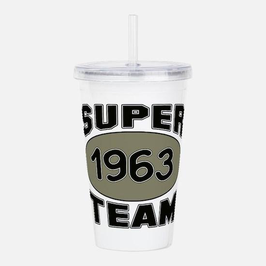 Super Team 1963 Acrylic Double-wall Tumbler