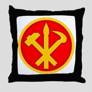 WPK Emblem Throw Pillow