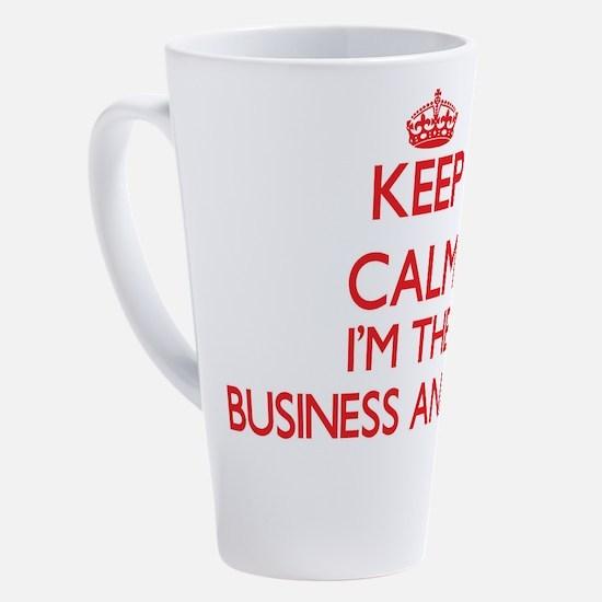 Funny Business 17 oz Latte Mug