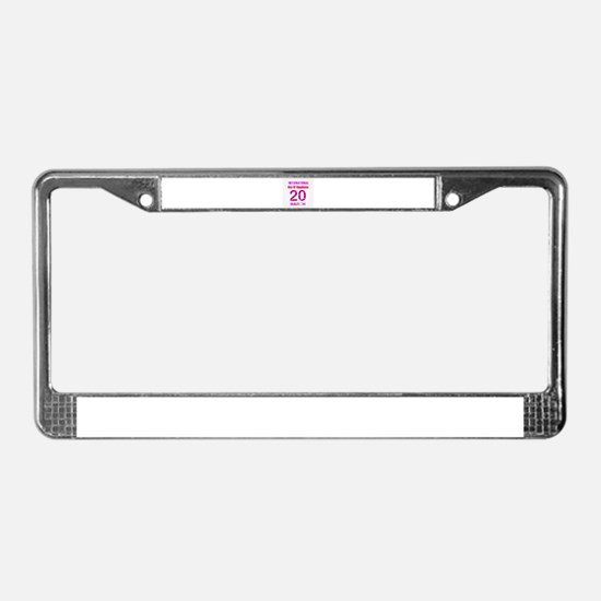 Cool Felicity License Plate Frame
