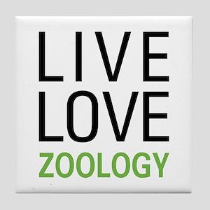 Live Love Zoology Tile Coaster