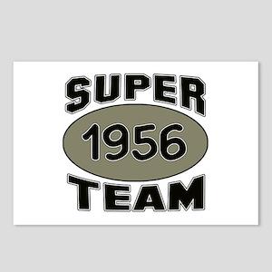 Super Team 1956 Postcards (Package of 8)