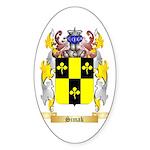 Simak Sticker (Oval 50 pk)