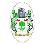 Silvester Sticker (Oval 50 pk)
