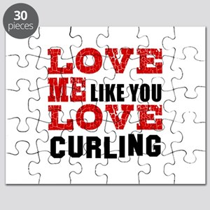 Love Me Like You Love Curling Puzzle
