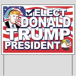 Elect Trump 2016 Yard Sign