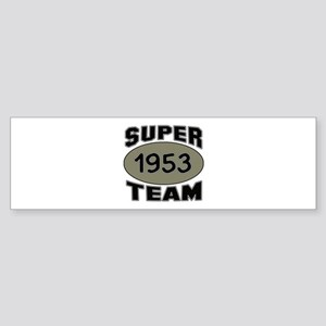 Super Team 1953 Sticker (Bumper)