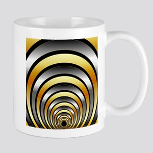 Illusion with metallic rings Mugs