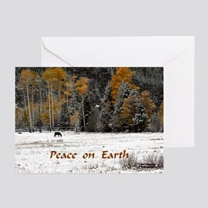 """Peace on Earth"" Greeting Cards (Pk of 10)"