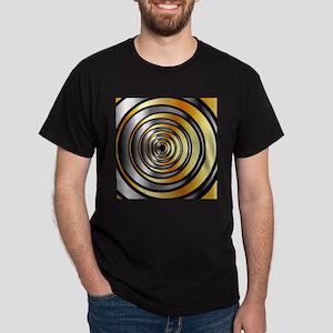 Illusion with metallic rings T-Shirt