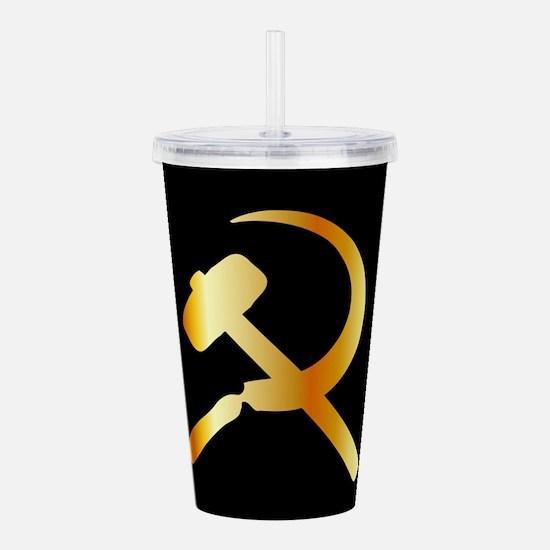 Communism Symbol Acrylic Double-wall Tumbler