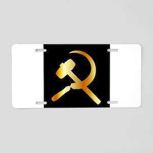 Communism Symbol Aluminum License Plate