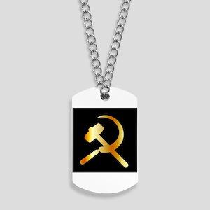 Communism Symbol Dog Tags