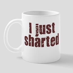 I JUST SHARTED SHIRT FUNNY BI Mug