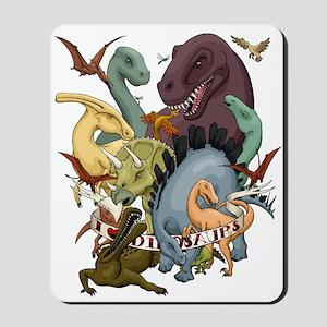 I Heart Dinosaurs Mousepad