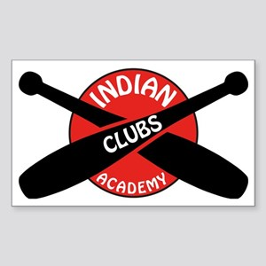 Indian Clubs Academy LG Sticker