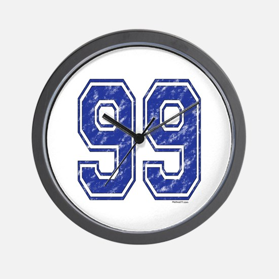 99 Jersey Year Wall Clock