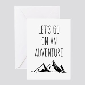 Let's Go On An Adventure Greeting Cards