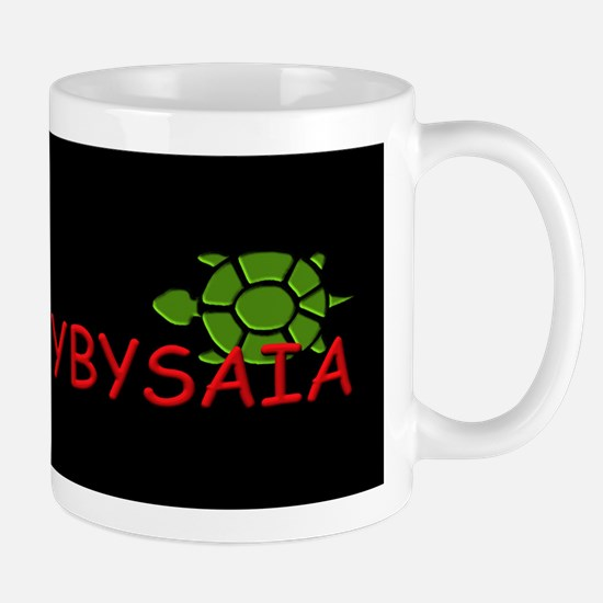 YBYSAIA with Green Turtle Stainless Steel Travel M