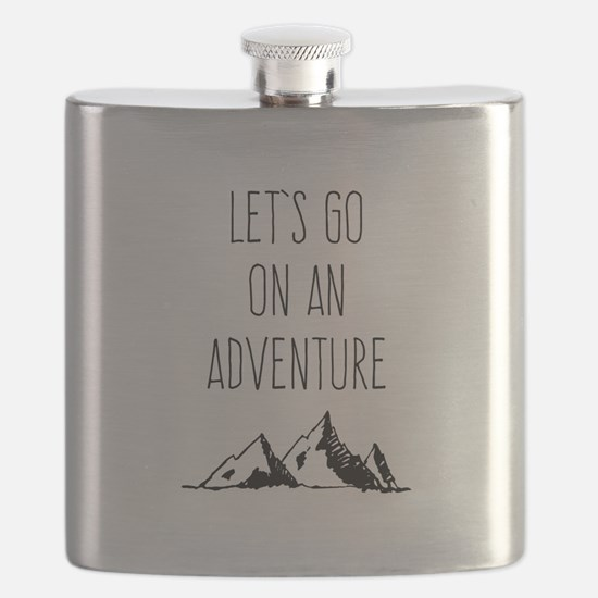 Let's Go On An Adventure Flask