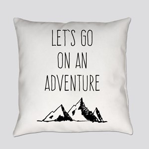 Let's Go On An Adventure Everyday Pillow