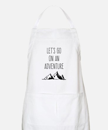 Let's Go On An Adventure Apron