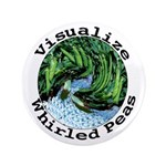 "Visualize Whirled Peas 3.5"" Button (100 pack)"