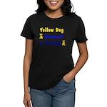Yellow Dog Democrat Women's Dark T-Shirt