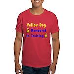 Yellow Dog Democrat Dark T-Shirt